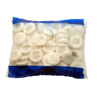 SOAP STD 20GR PLISSE PACK 50UN STD PACKS