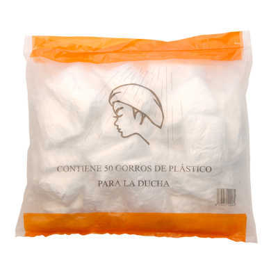 SHOWER CAP STD PE PACK 50 UN STD PACKS