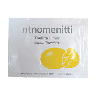 SACHET LEMON TOWELETTE NOMENITTI