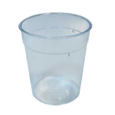 GLASS RIGID 200ML PS TRANSPARENT (WITHOUT BAG)