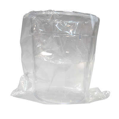 GLASS RIGID 200ML PS TRANSPARENT (INDIVIDUAL BAG)