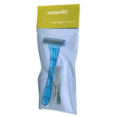 SHAVING KIT (RAZOR RZ15 + TUBE 10GR) NOMENITTI