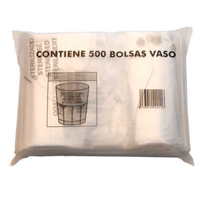 GLASS BAG STD PACK 500UN STD PACKS