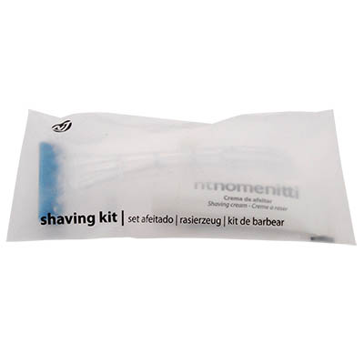 SHAVING KIT RAZOR RZ15 + CREAM TUBE 10GR NT LINE