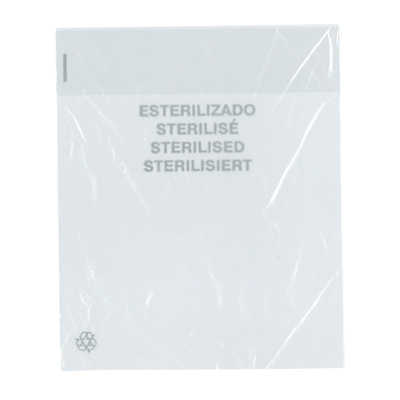 GLASS BAG 16x19 PE TRANSPARENT STANDARD