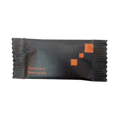SEWING KIT STD 6 THREADS ORANGE BLACK