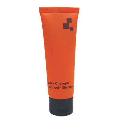 TUBE 30ML OB BATH GEL&SHAMPOO ORANGE BLACK
