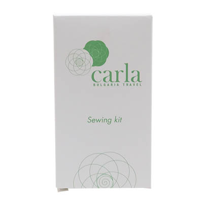 SEWING KIT PLASTIC BOX 6 THREADS CARLA BULGARIA