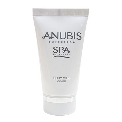 TUBE 30ML SQ BODY MILK CAVIAR ANUBIS SPA