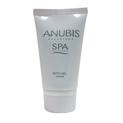 TUBE 50ML SQ BATH GEL CAVIAR ANUBIS SPA