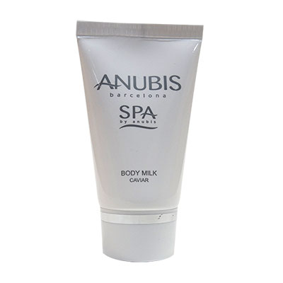 TUBE 50ML SQ BODY MILK CAVIAR ANUBIS SPA