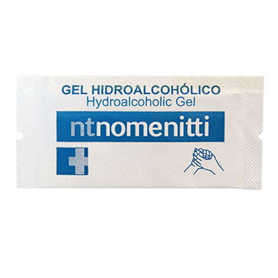 SACHET 1,5ML G GEL HYDROALCOHOLIC NOMENITTI