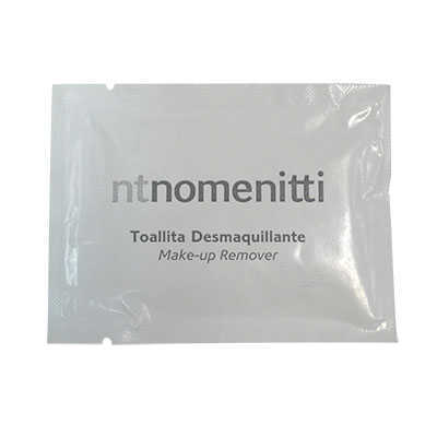 SACHET MAKE-UP REMOVER TOWELETTE NOMENITTI